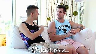 ManRoyale Aggressive anal fuck with Josh Stone