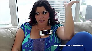 humungous breasted Angelina Castro Desperate for Spanish trunk!