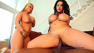 Angelina Castro & Austin Taylor xxx threeway!