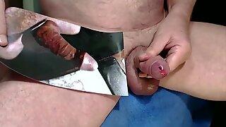Kater xxx Tribute - eine satte Ladung Sperma auf den geilen Arsch gespritzt