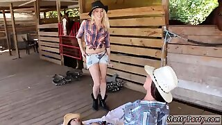 Amateur granny party and teen fucks companion Farm Girls