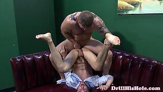 Dean Monroe pounding bottom ass