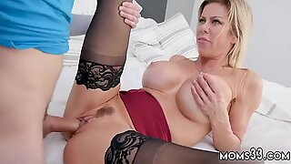 Hairy russian mom She got home from work ready to unwind. - Alexis Fawx