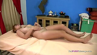 youthful Thai lady gets blessed ending massage